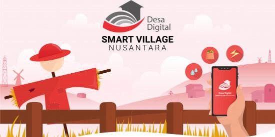 Smart Village Nusantara Bersama Telkom Menjawab Tantangan Digitalisasi Desa.